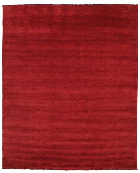 ハンドルーム Fringes - 深紅色の 絨毯 250X300 モダン 赤 大きな (ウール, インド)