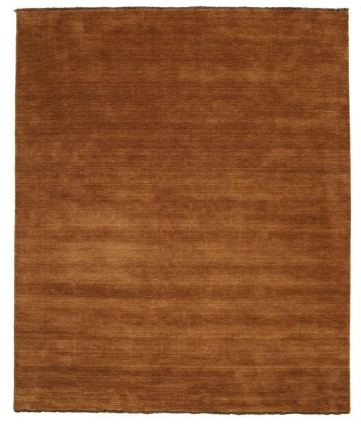 ハンドルーム Fringes - 茶 絨毯 250X300 モダン 茶/濃い茶色 大きな (ウール, インド)