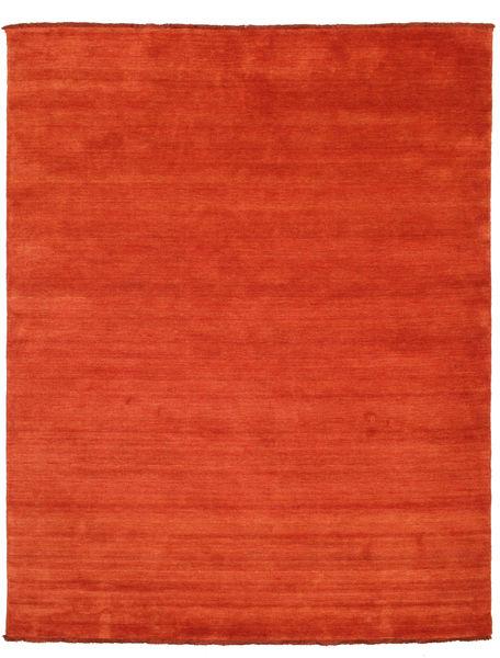ハンドルーム Fringes - 錆色/赤 絨毯 200X250 モダン 錆色/オレンジ (ウール, インド)