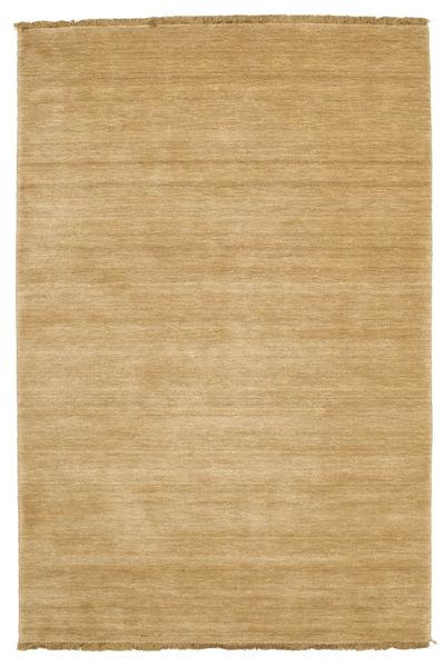 ハンドルーム Fringes - ベージュ 絨毯 120X180 モダン 暗めのベージュ色の/薄茶色 (ウール, インド)