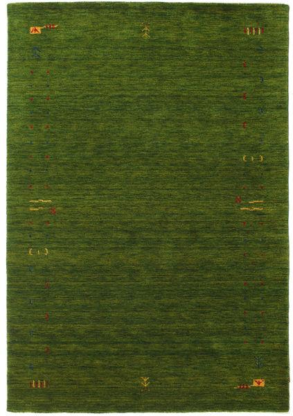 ギャッベ ルーム Frame - グリーン 絨毯 160X230 モダン 深緑色の (ウール, インド)