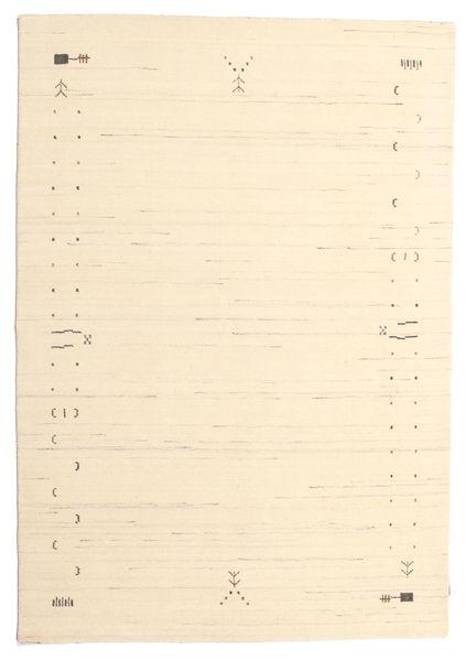 ギャッベ ルーム Frame - オフホワイト 絨毯 160X230 モダン ベージュ/暗めのベージュ色の (ウール, インド)