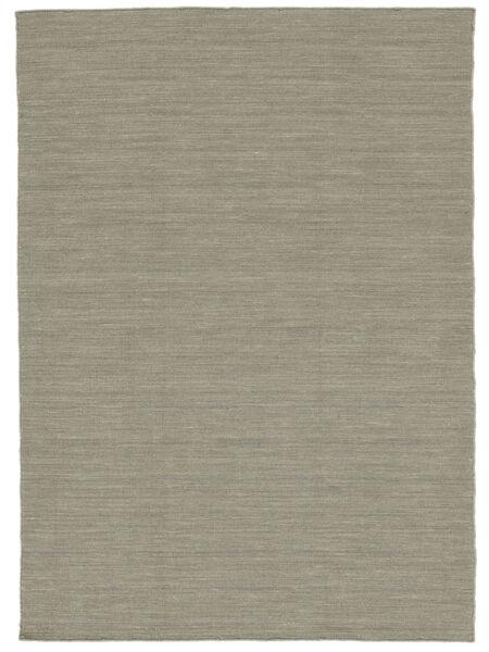 キリム ルーム - 薄い灰色/ベージュ 絨毯 160X230 モダン 手織り 薄い灰色 (ウール, インド)