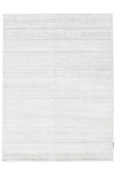 Bamboo シルク ルーム - 薄い ナチュラル 絨毯 200X300 モダン ベージュ/ホワイト/クリーム色 ( インド)