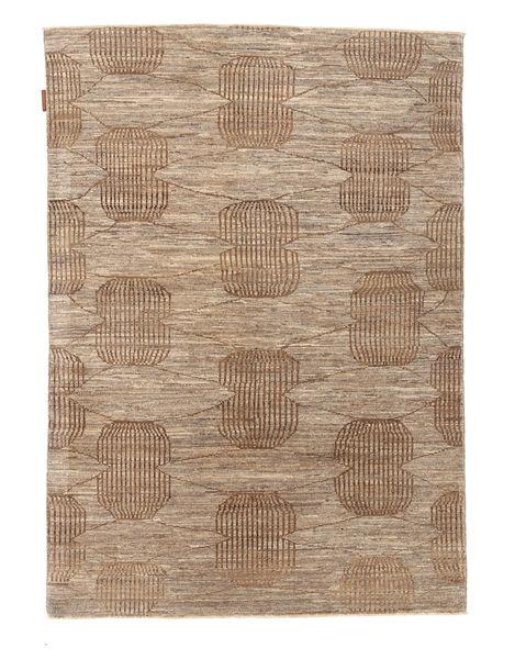 Ziegler モダン 絨毯 119X173 モダン 手織り 薄い灰色/薄茶色/茶 (ウール, パキスタン)