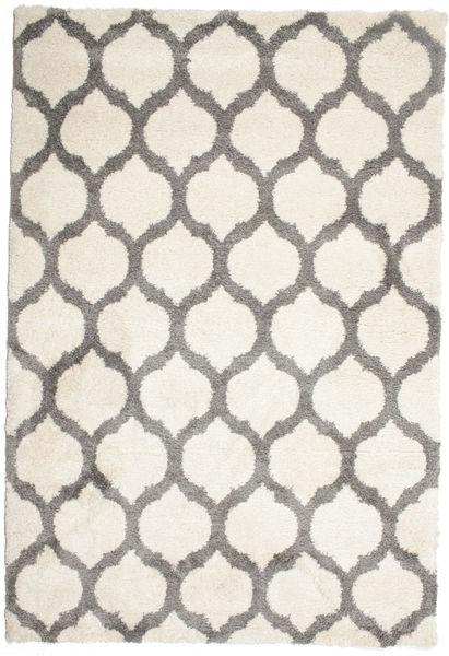Berber シャギー Illusia - オフホワイト/グレー 絨毯 200X300 モダン ベージュ/薄い灰色 ( トルコ)