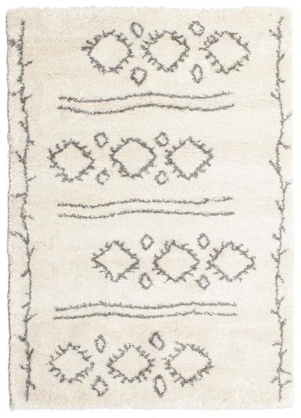 Berber シャギー Yani 絨毯 160X230 モダン ベージュ/薄い灰色 ( トルコ)