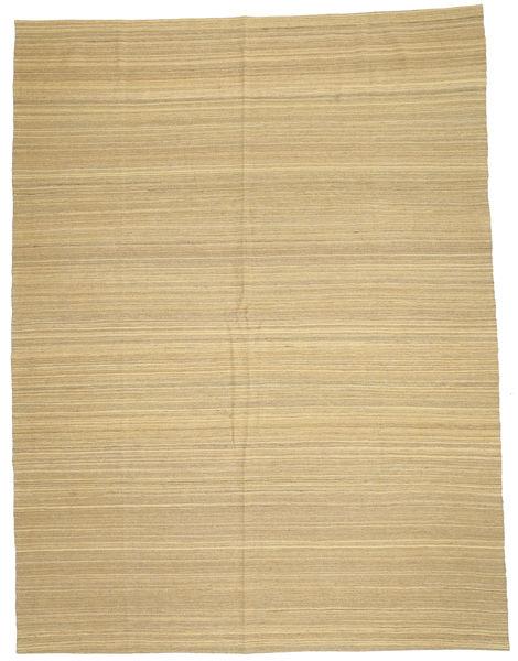 キリム モダン 絨毯 212X280 モダン 手織り 暗めのベージュ色の/ベージュ (ウール, アフガニスタン)