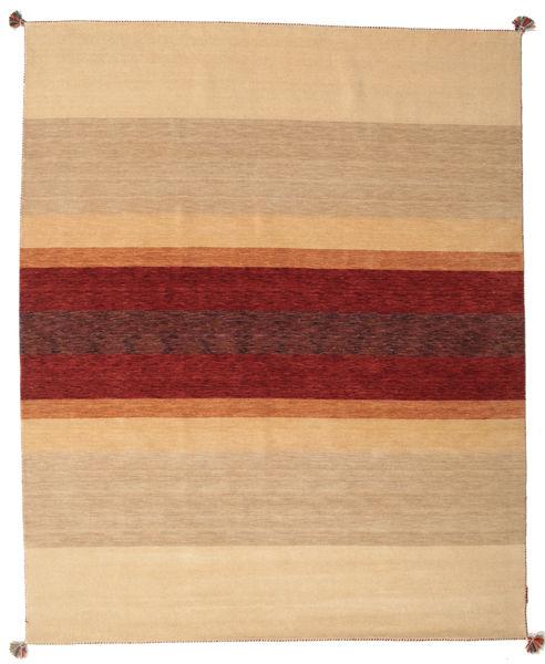 Loribaf ルーム 絨毯 172X241 モダン 手織り 暗めのベージュ色の/深紅色の (ウール, インド)