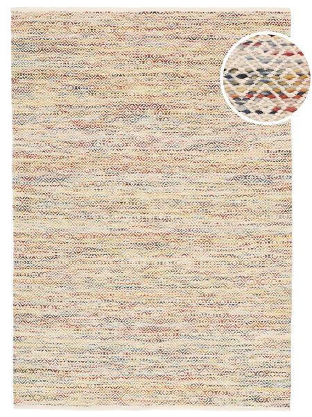 Hugo - Multi 絨毯 140X200 モダン 手織り ベージュ/暗めのベージュ色の ( インド)