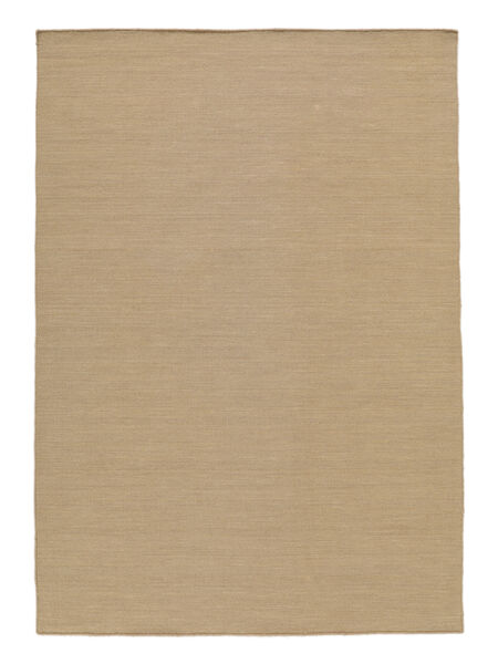 キリム ルーム - ベージュ 絨毯 140X200 モダン 手織り 薄茶色/茶 (ウール, インド)