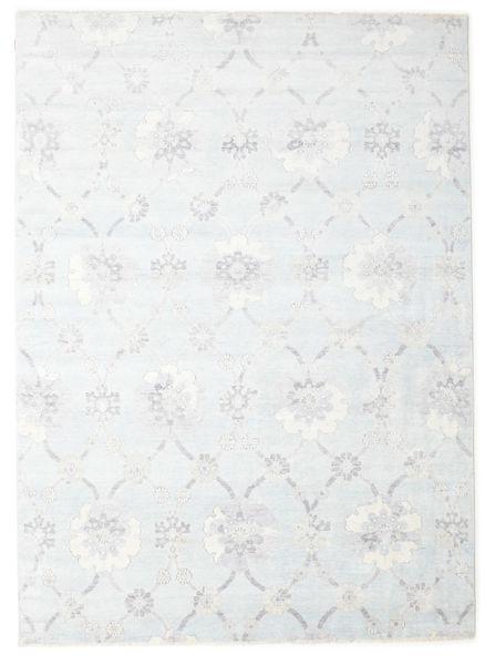Himalaya 絨毯 240X308 モダン 手織り ホワイト/クリーム色/薄い灰色 ( インド)