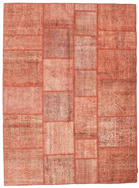 パッチワーク 絨毯 170X230 モダン 手織り ライトピンク/薄茶色 (ウール, トルコ)