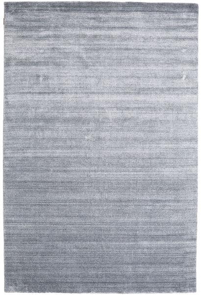 Bamboo シルク ルーム - Denim 青 絨毯 200X300 モダン 薄い灰色/水色 ( インド)