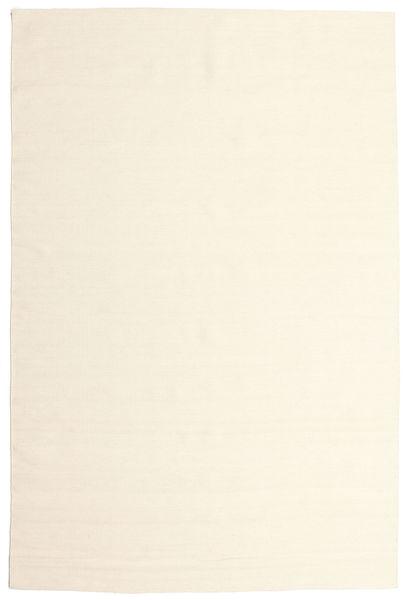 キリム ルーム - オフホワイト 絨毯 200X300 モダン 手織り ベージュ/ホワイト/クリーム色 (ウール, インド)
