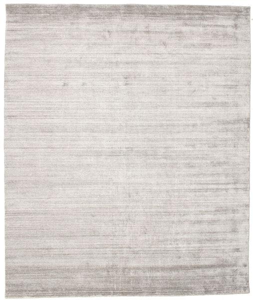 Bamboo シルク ルーム - Warm グレー 絨毯 250X300 モダン 薄い灰色 大きな ( インド)