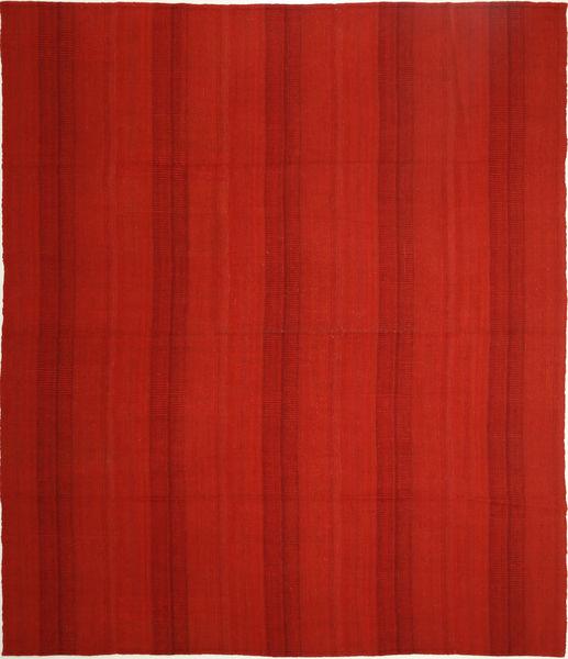 キリム モダン 絨毯 255X298 モダン 手織り 錆色 大きな (ウール, ペルシャ/イラン)