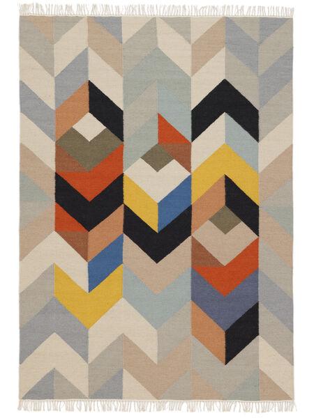 Reflection 絨毯 160X230 モダン 手織り 薄い灰色/ベージュ (ウール, インド)
