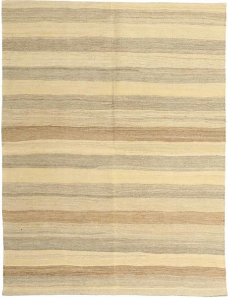 キリム モダン 絨毯 152X198 モダン 手織り ベージュ/暗めのベージュ色の (ウール, ペルシャ/イラン)