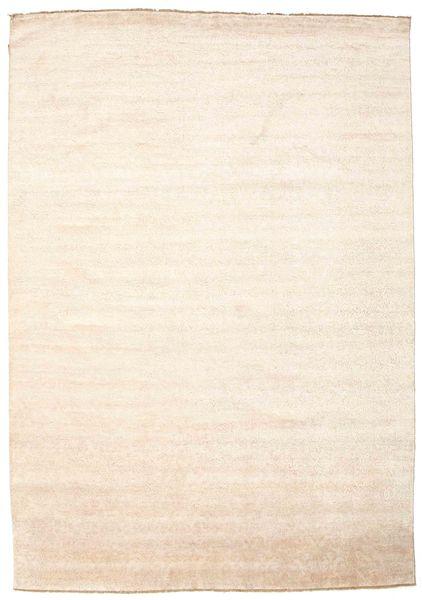 Damask 絨毯 247X352 モダン 手織り ベージュ/ライトピンク ( インド)