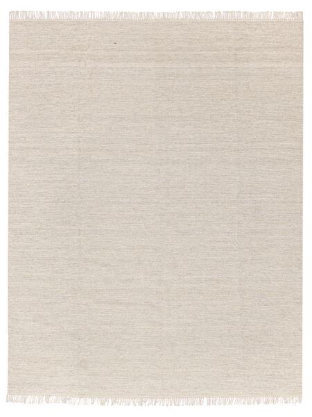 Melange - 砂色 絨毯 250X300 モダン 手織り ベージュ/薄い灰色 大きな (ウール, インド)