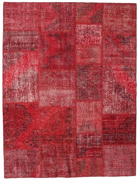 パッチワーク 絨毯 192X251 モダン 手織り 深紅色の/赤 (ウール, トルコ)