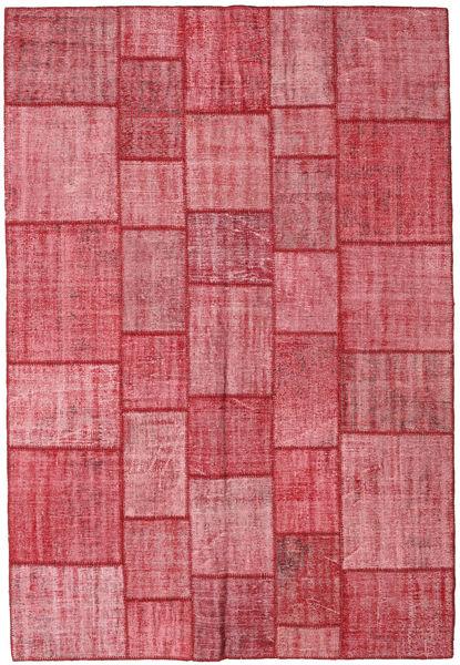 パッチワーク 絨毯 205X300 モダン 手織り 錆色/ピンク (ウール, トルコ)