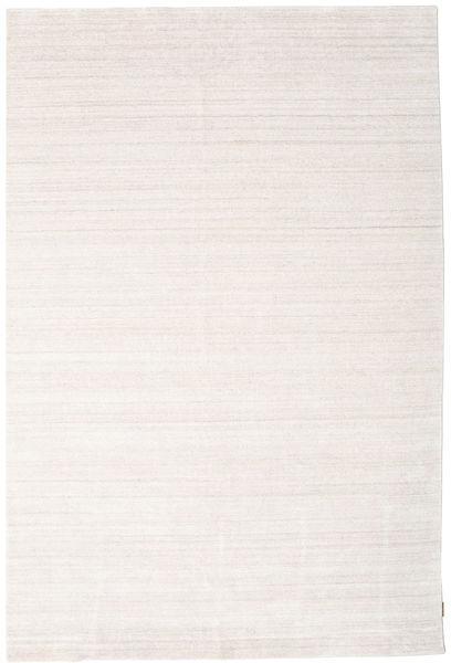 Bamboo シルク ルーム - ベージュ 絨毯 200X300 モダン ホワイト/クリーム色/ベージュ ( インド)