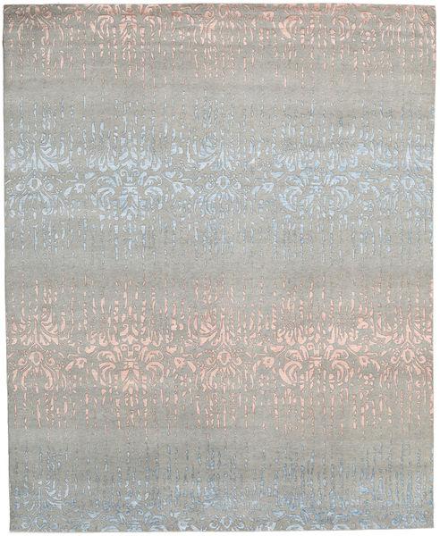 Himalaya 絨毯 245X303 モダン 手織り 薄い灰色 (ウール/バンブーシルク, インド)
