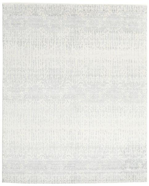 Himalaya 絨毯 243X301 モダン 手織り ベージュ/薄い灰色 (ウール/バンブーシルク, インド)