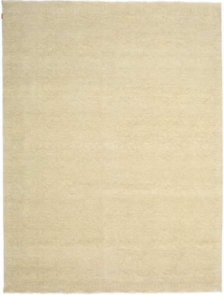 Himalaya Bambu シルク 絨毯 271X362 モダン 手織り ベージュ/暗めのベージュ色の 大きな ( インド)