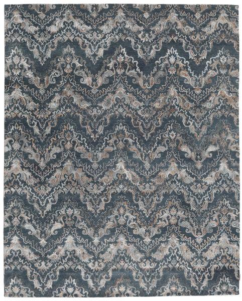 Himalaya Bambu シルク 絨毯 247X307 モダン 手織り 濃いグレー/薄い灰色 ( インド)