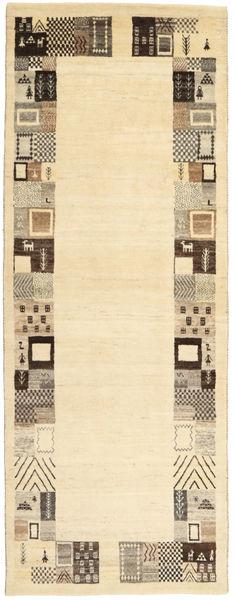 ロリ Baft ペルシャ 絨毯 82X217 モダン 手織り 廊下 カーペット ベージュ/暗めのベージュ色の (ウール, ペルシャ/イラン)