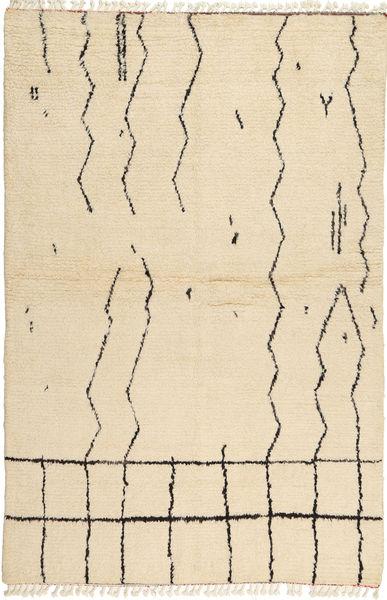 Barchi/Moroccan Berber 絨毯 169X251 モダン 手織り ベージュ (ウール, パキスタン)