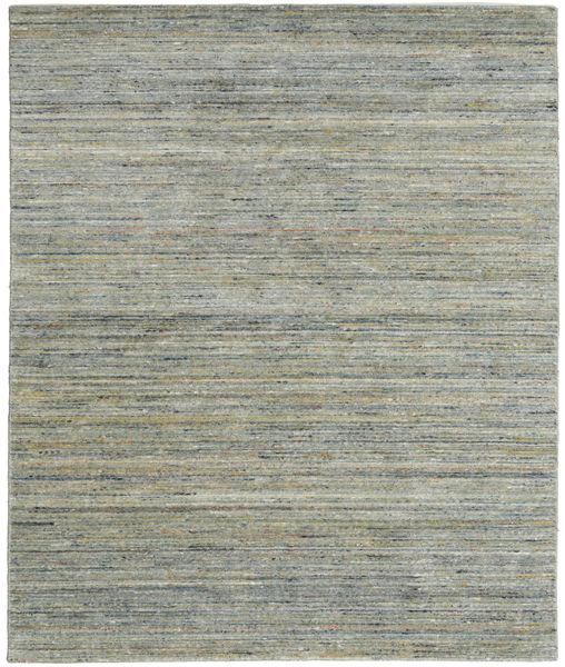 Mazic - Green_Grey 絨毯 190X240 モダン 手織り 薄い灰色/濃いグレー (ウール, インド)
