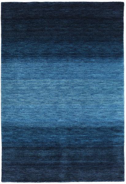 ギャッベ Rainbow - 青 絨毯 160X230 モダン 紺色の/青 (ウール, インド)