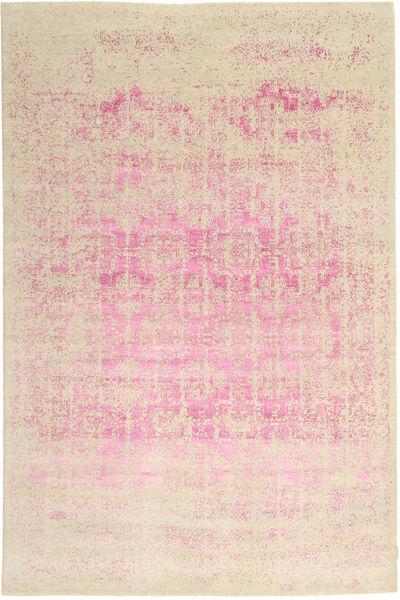 Roma モダン Collection 絨毯 198X299 モダン 手織り ベージュ/ライトピンク/黄色 ( インド)