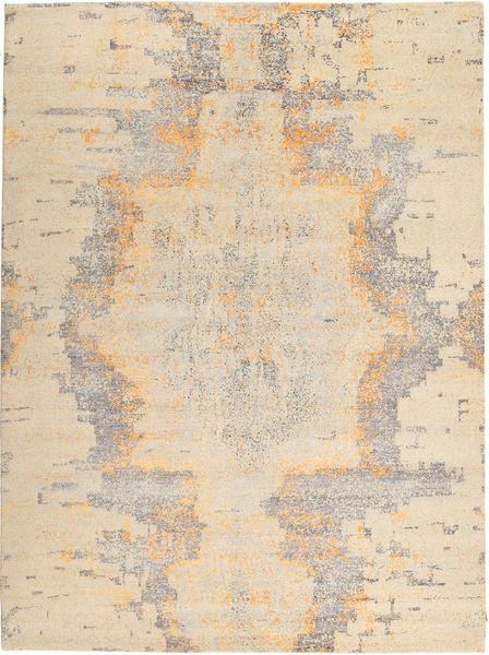 Roma モダン Collection 絨毯 270X362 モダン 手織り ベージュ/薄い灰色 大きな ( インド)