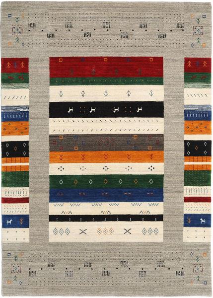 Loribaf ルーム Designer 絨毯 160X230 モダン 薄い灰色/ベージュ (ウール, インド)