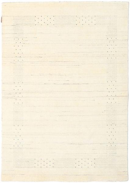 Loribaf ルーム Beta - ナチュラル 絨毯 140X200 モダン ベージュ/ホワイト/クリーム色 (ウール, インド)