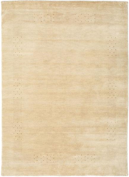 Loribaf ルーム Beta - ベージュ 絨毯 160X230 モダン ベージュ/薄茶色 (ウール, インド)