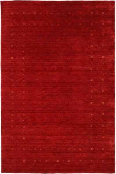 Loribaf ルーム Delta - 赤 絨毯 190X290 モダン 錆色/深紅色の (ウール, インド)