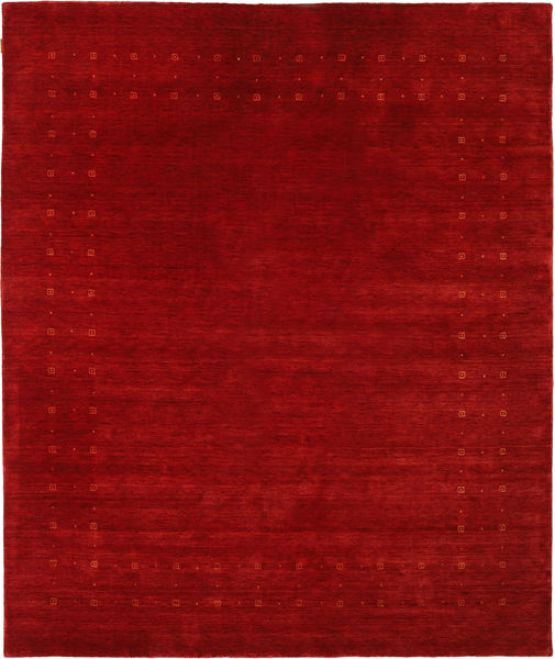 Loribaf ルーム Delta - 赤 絨毯 240X290 モダン 深紅色の/錆色 (ウール, インド)