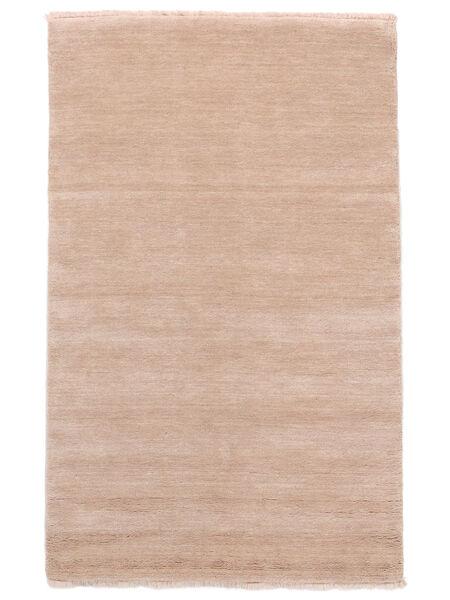 ハンドルーム Fringes - ディープラスト 絨毯 160X230 モダン ライトピンク/ベージュ (ウール, インド)