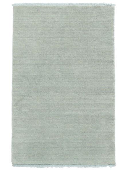 ハンドルーム Fringes - アイスブルー 絨毯 160X230 モダン 水色 (ウール, インド)