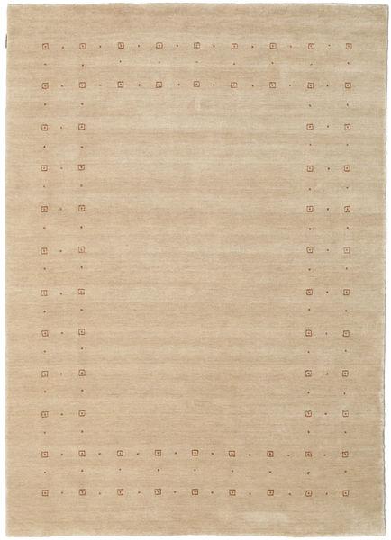 Loribaf ルーム Delta - ベージュ 絨毯 160X230 モダン ベージュ/暗めのベージュ色の (ウール, インド)