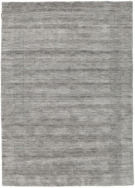 ハンドルーム Gabba - グレー 絨毯 160X230 モダン 薄い灰色/濃いグレー (ウール, インド)