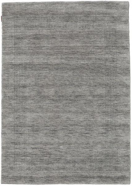 ハンドルーム Gabba - グレー 絨毯 140X200 モダン 薄い灰色/濃いグレー (ウール, インド)