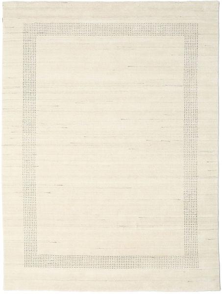 ハンドルーム Gabba - ナチュラル 絨毯 210X290 モダン ベージュ (ウール, インド)