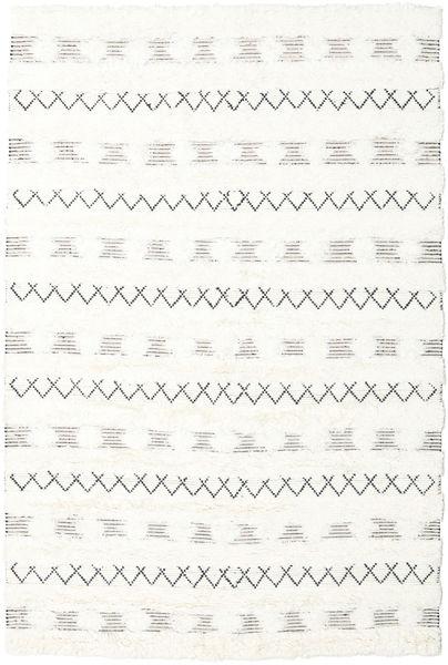 Shedir - 白 絨毯 200X300 モダン 手織り ベージュ/ホワイト/クリーム色 (ウール, インド)